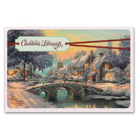 Christmas Boxed Cards: Thomas Kinkade Christmas Blessings (Ruth 2:4 Nrsv)
