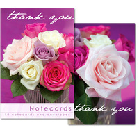 Notecards: Roses - Thank You