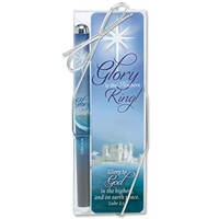 Pen & Bookmark Set Glory To The Newborn King