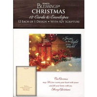 Christmas Boxed Cards: Light Of The World (12 cards, 12 each of 1 design)