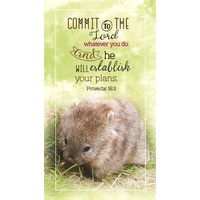 2021 18 Month Daily Planner: Commit To The Lord Whatever You Do (Proverbs 16:3)
