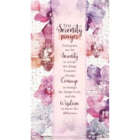 2021 18 Month Daily Planner: The Serenity Prayer