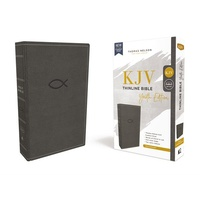 KJV Thinline Bible Youth Edition Gray (Red Letter Edition)