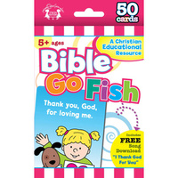 Flash Cards: Bible Go Fish (Age 5+) (Pk 50)