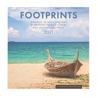 2021 Wall Calendar: Footprints