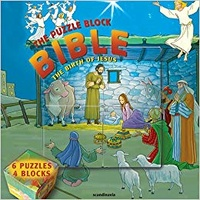 The Birth of Jesus (Puzzle Block Bible Series)